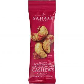 Sahale Pomegranate Vanilla Flavored Cashew Mix 1.5oz.
