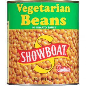 Showboat Vegetarian Beans - 112oz