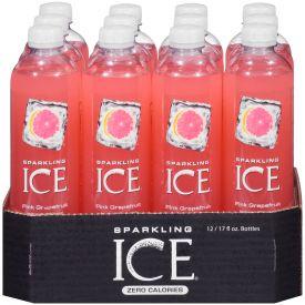 Sparkling Ice Pink Grapefruit 17oz.