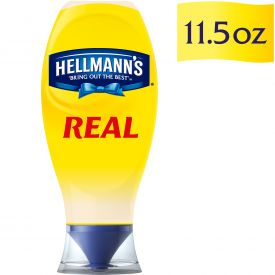 Hellmann's Real Mayonnaise Squeeze Bottles 11.5oz.