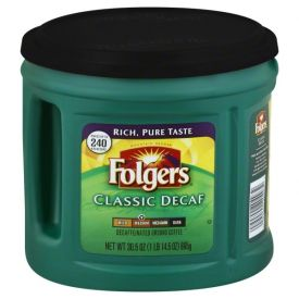 Folgers Decaf Ground Classic Roast 30.5oz.