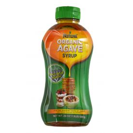 Naturel Organic Agave Light Syrup 24oz.