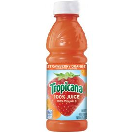 Tropicana Orange Strawberry Juice 10oz.
