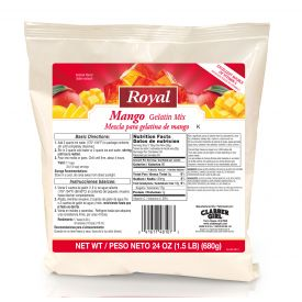 Royal Mango Gelatin Mix 24oz.