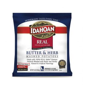 Idahoan Real Butter & Herb Mash Potato - 32oz
