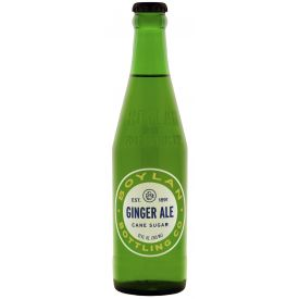 Boylan Bottling Ginger Ale Soda 12oz.