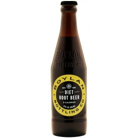 Boylan Bottling Diet Root Beer Soda 12oz.