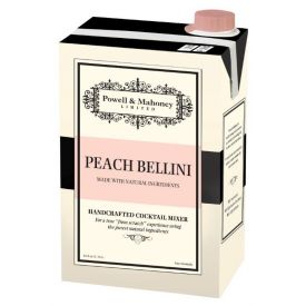 Powell & Mahoney Peach Bellini Cocktail Mixer 46oz.