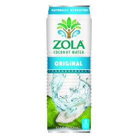 Zola Original Coconut Water 17.5oz.