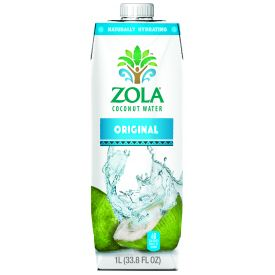 Zola Coconut Water 33.8oz.