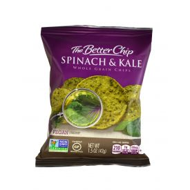 The Better Chip Kale & Spinach Tortilla Chips - 1.5oz