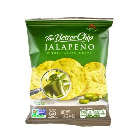 The Better Chip Jalapeno & Sea Salt Tortilla Chips - 1.5oz