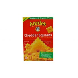 Annie's Cheddar Squares Crackers - 7.5oz