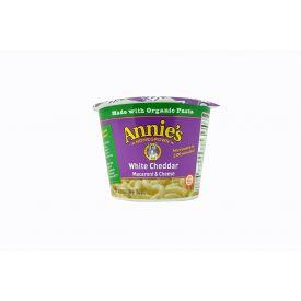Annie's White Cheddar Macaroni & Cheese Cups 2.01oz.
