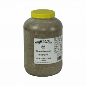 Inglehoffer Stone Ground Mustard 144oz.