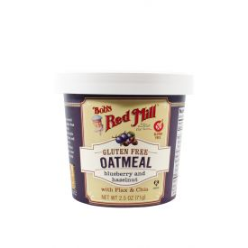 Bob's Red Mill Blueberry Hazelnut Oatmeal Cup 2.5oz.