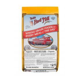 Bob's Red Mill Organic White Rice Flour 25lb.