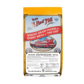 Bob's Red Mill Extra Thick Rolled Oats 25lb.