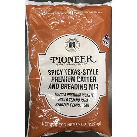 Pioneer Spicy Texas-Style Premium Batter and Breading Mix 5lb.