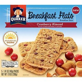 Quaker Cranberry Almond Breakfast Flats 1.41oz.