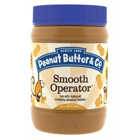 Peanut Butter & Co Smooth Operator Peanut Butter 16oz.