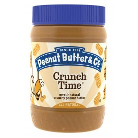 Peanut Butter & Co Crunch Time All Natural Peanut Butter 16oz.
