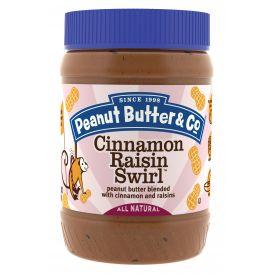 Peanut Butter & Co Cinnamon Raisin Swirl Peanut Butter 16oz.