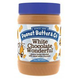 Peanut Butter & Co White Chocolate Wonderful Peanut Butter 16oz.