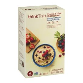 Thinkthin Farmer's Market Berry Crumble Oatmeal 1.76oz.