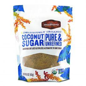Madhava Honey Coconut Organic Sugar 1lb.