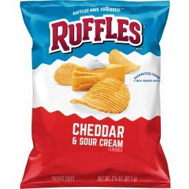 Ruffles Cheddar & Sour Cream Potato Chips - 2.375oz