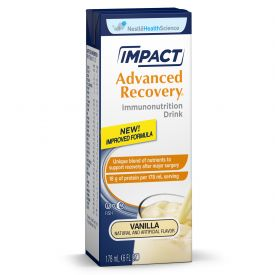 Nestle Impact Advanced Recovery Vanilla Flavored Supplement 16oz.