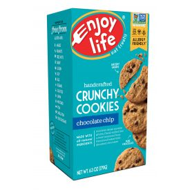 Enjoy Life Crunchy Chocolate Chip Cookies - 7oz