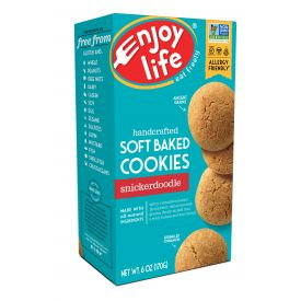 Enjoy Life Snickerdoodle Soft Baked Cookies - 6oz