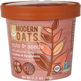 Modern Oats Nuts & Seeds Oatmeal 2.3oz.