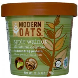 Modern Oats Apple Walnut Oatmeal 2.6oz.