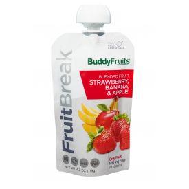 Buddy Fruits Strawberry and Banana Fruit Blend - 4.2oz