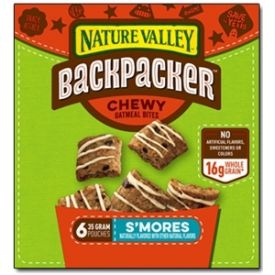 Nature Valley Backpacker Oatmeal Bites S'Mores - 1.24oz