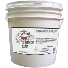 Five Star Beef/Veal Demi-Glace Starter - 20lb