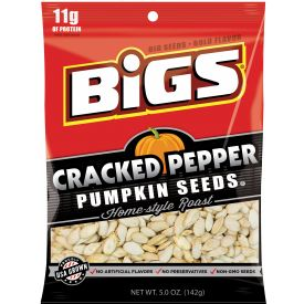 BIGS Cracked Pepper Pumpkin Seeds Case 5oz.