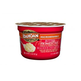 Idahoan Buttery Homestyle Mashed Potatoes Cup -1.5oz