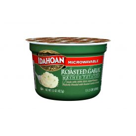 Idahoan Roasted Garlic Mashed Potato Cup 1.5oz
