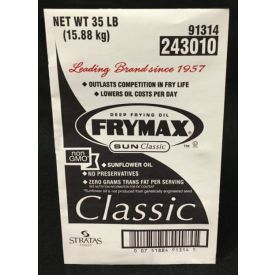 Frymax Classic Sunflower Frying Oil