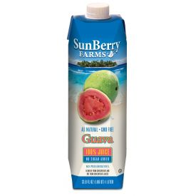 Sunberry Farms Guava Juice 33.8oz.
