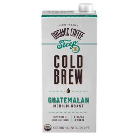 Steep 18 Organic Guatemalan Cold Brew Coffee 32oz.