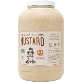 Sir Kensington's Bulk Spicy Brown Mustard 148oz.q