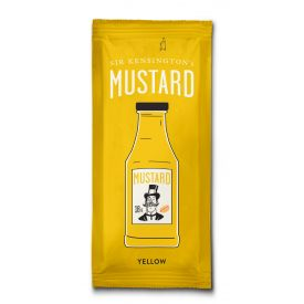 Sir Kensington's Yellow Mustard Squeeze Packets 0.033lb.