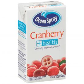 Ocean Spray Cranberry Juice 4.2oz.