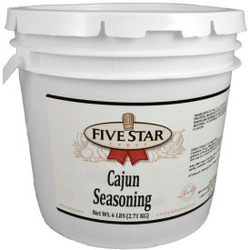 Five Star Cajun Seasoning - 6lb