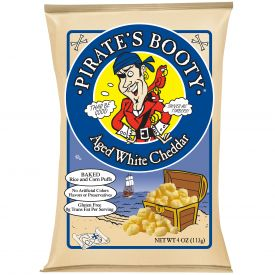 Pirate's Booty Aged White Cheddar Cheese Puffs - 4oz